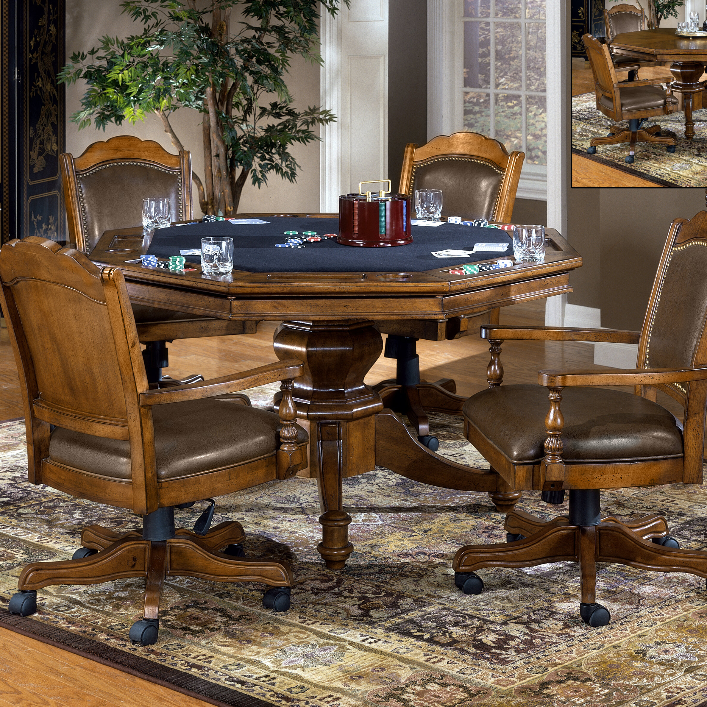 Darby home co earles 52 poker table reviews wayfair for Table 52 opentable