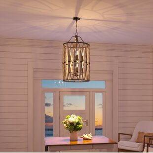 Affordable Belmont 5-Light Foyer Pendant By Kalco