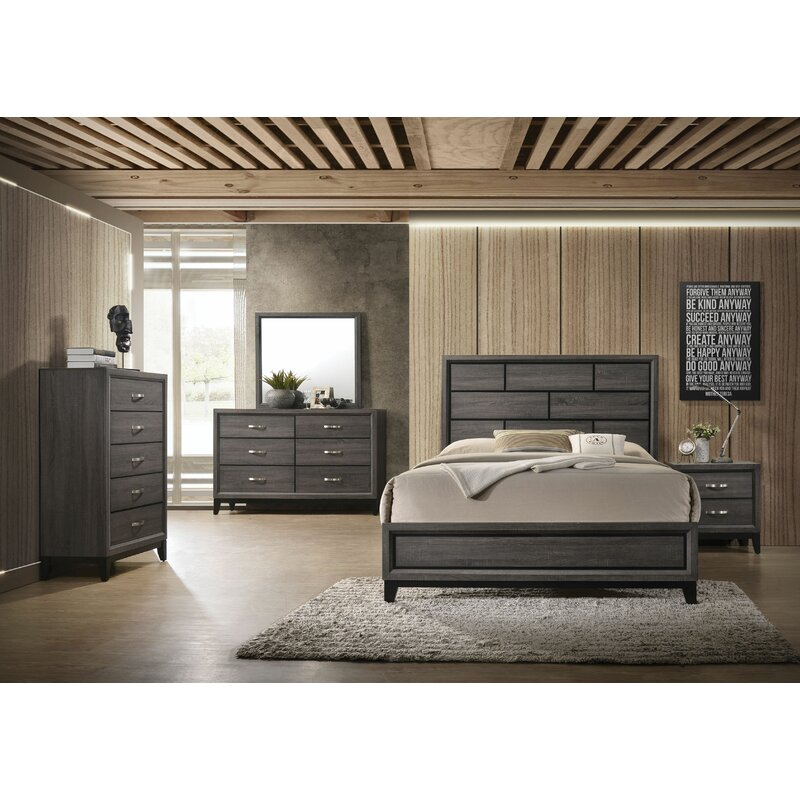 Gracie Oaks Caudillo Standard Configurable Bedroom Set Reviews Wayfair