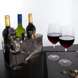 Gallo Bar 3 Bottle Tabletop Wine Bottle Rack by Winston Porter
