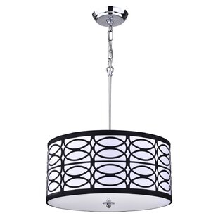 Bruckdale 4-Light Drum Chandelier
