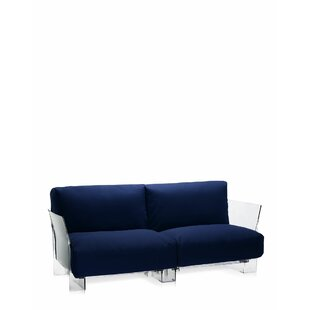 Pop Outdoor Two Seater Sofa with Cushion