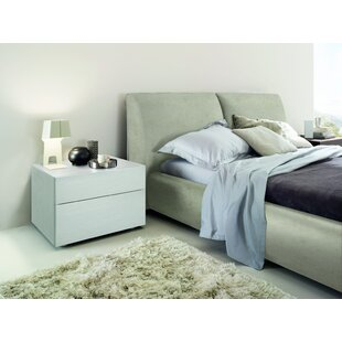 Rossetto USA Pavo Upholstered Platform Bed
