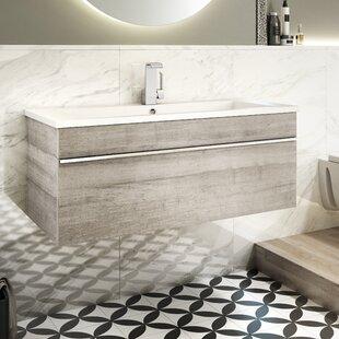 Trough 30 Wall Mounted Single Bathroom Vanity Set ByCutler Kitchen & Bath