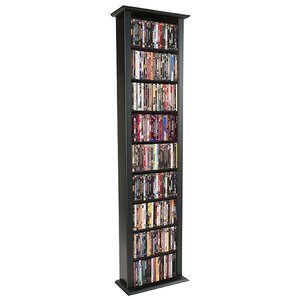 Large Single Multimedia Storage Rack by Rebrilliant