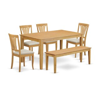 Capri 6 Piece Dining Set by Wooden Importers 2019 Online
