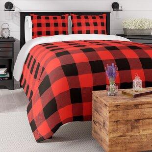 Laurel Foundry Modern Farmhouse Bernier Winter Cabin Duvet Cover Set
