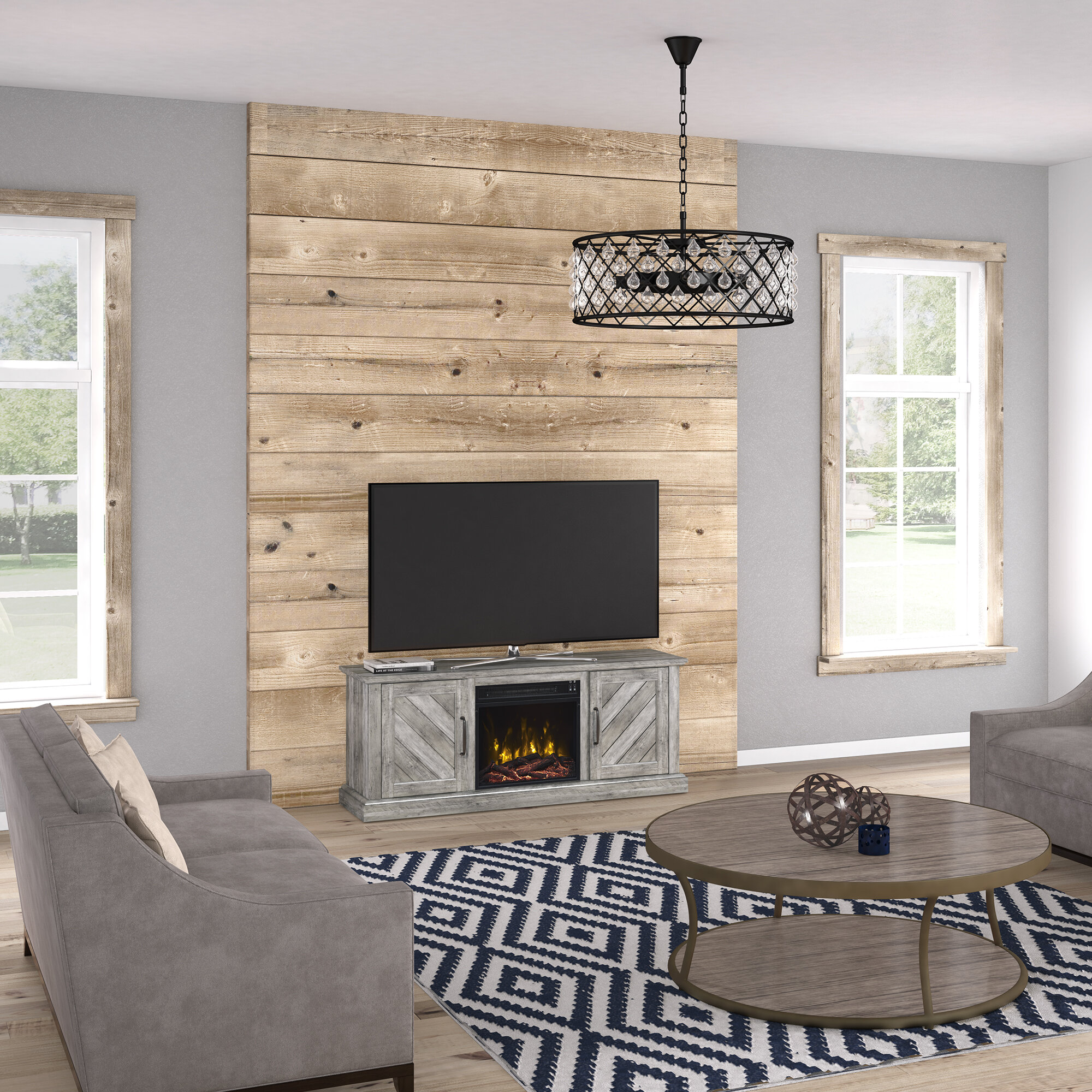 information living stand furniture entertainment with home laughlin room fireplace more tv item