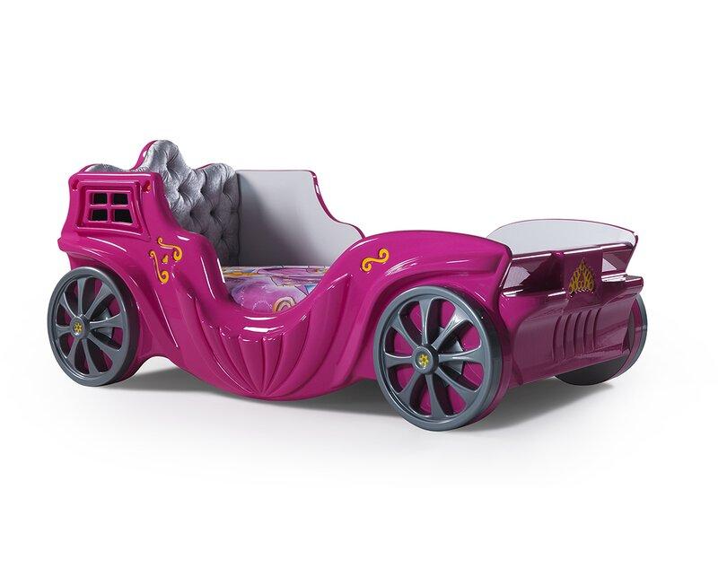 Cloudseller Princess Twin Car Bed Reviews Wayfair