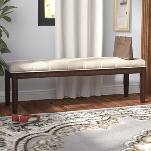 Neumann Upholstered Bench by Three Posts