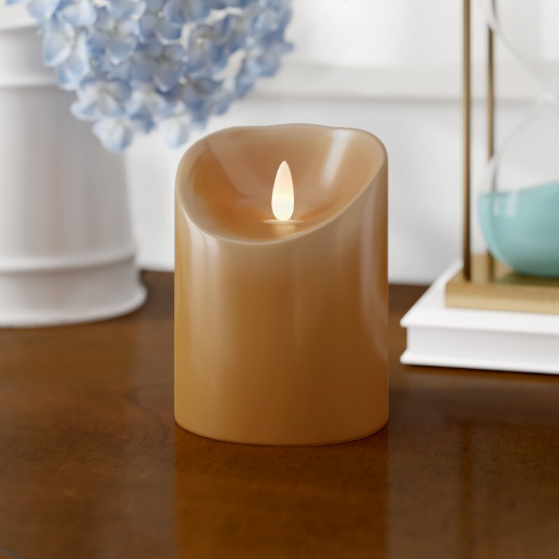 Charlton Home Led Flicker Unscented Flameless Candle Reviews Wayfair