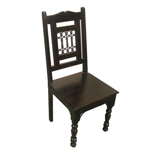 Cullens Solid Wood Dining Chair Fleur De Lis Living
