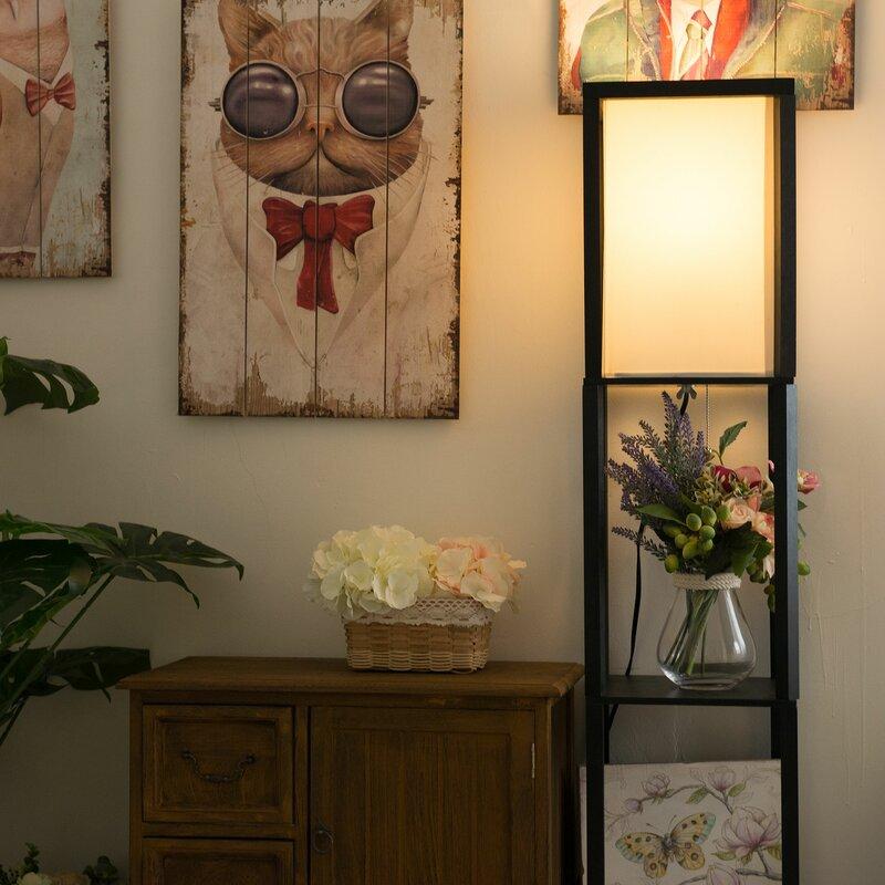Zipcode Design Aarav 63 Led Column Floor Lamp Reviews Wayfair