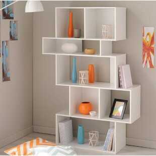 Alston Open Geometric Bookcase