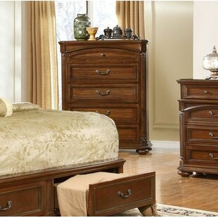 Gusman 5 Drawer Chest by Fleur De Lis Living Cheap