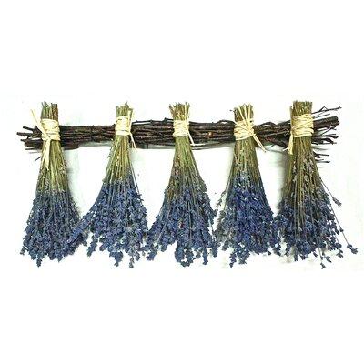 Lavender Birch Flower Hanger
