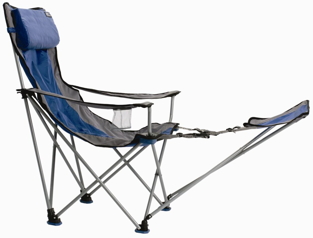 Arlmont & Co. Jazmyn Folding Camping Chair with Cushion
