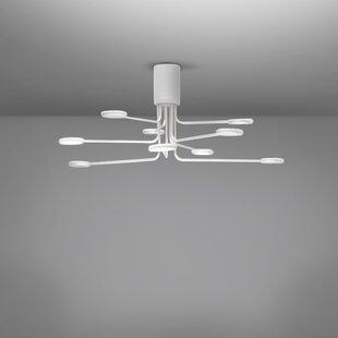 Arbor 9-Light LED Semi Flush Mount by ZANEEN design