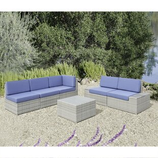 Ceasar 6 Piece Sectional Set with Cushions