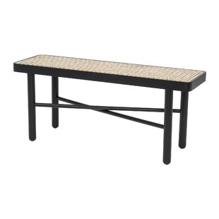 Luna Wood Bench By Bay Isle Home