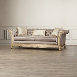 Bainbridge Chesterfield Sofa by Astoria Grand