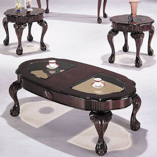 Lechuga Coffee Table Set (Set of 3) Astoria Grand