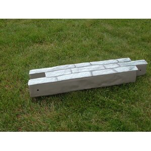 10 in. x 90 in. RockLock Straight Wall Ed..