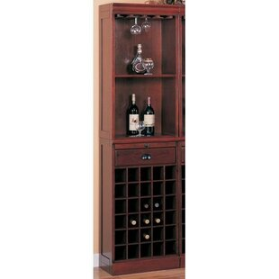 Wildon Home ® Bar Unit with Wine Storage
