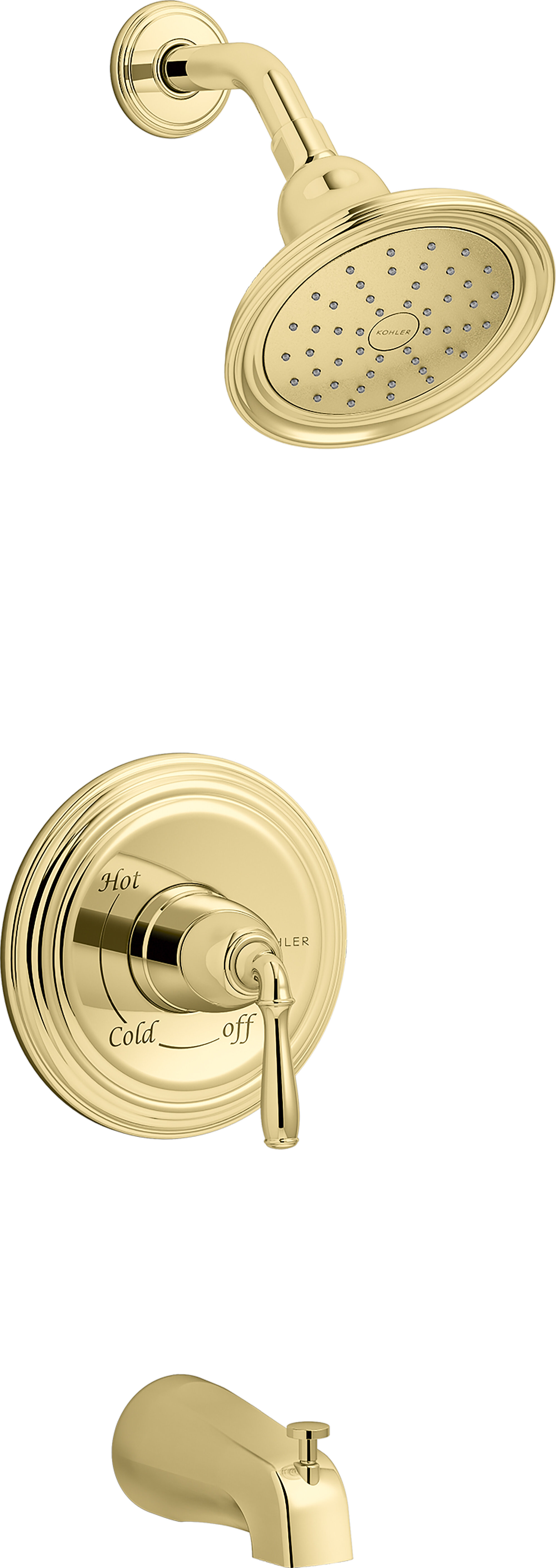 Polished Brass Kohler Shower Faucets Systems You Ll Love In 2021 Wayfair