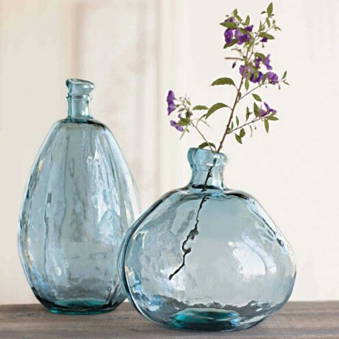 Dovecove Recycled Glass Balloon Table Vase Reviews Wayfair