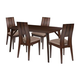 Ebern Designs Sirius 5 Piece Dining Set