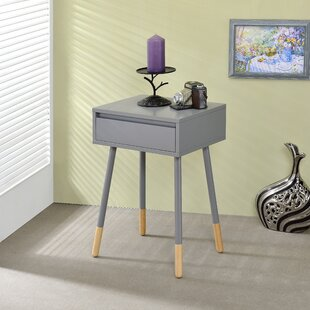 Great Price Depalma End Table with Storage By Ebern Designs