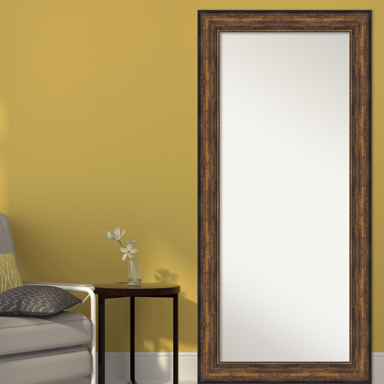 Alcott Hill Jamila Floor Leaner Full Length Mirror Wayfair