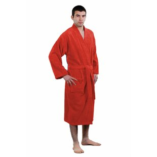 Dewsbury Kimono 100% Turkish Cotton Velour Bathrobe