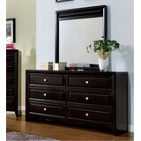 Kavit 6 Drawer Double Dresser with Mirror by Red Barrel Studio®