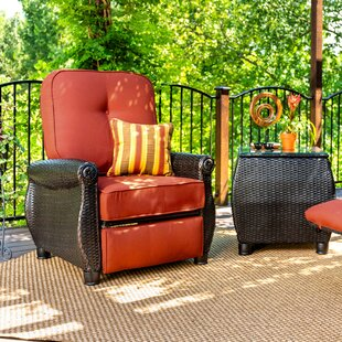Breckenridge Recliner Patio Chair with Cushion