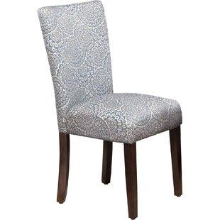 Feldman Upholstered Parsons Chair (Set of..