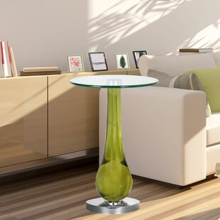 Yareli Evergreen End Table by Corrigan St..
