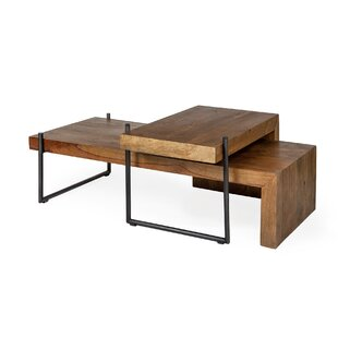 Leo Maddox III 2 Piece Coffee Table Set