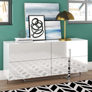 Royce 4 Drawer Double Dresser by Wade Logan
