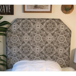 Hoppe Beveled Twin/Twin XL UpholsteredPanel Headboard by Zoomie Kids