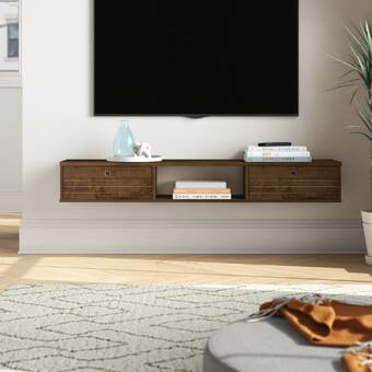Ivy Bronx Haywards Entertainment Center For Tvs Up To 50 Reviews Wayfair