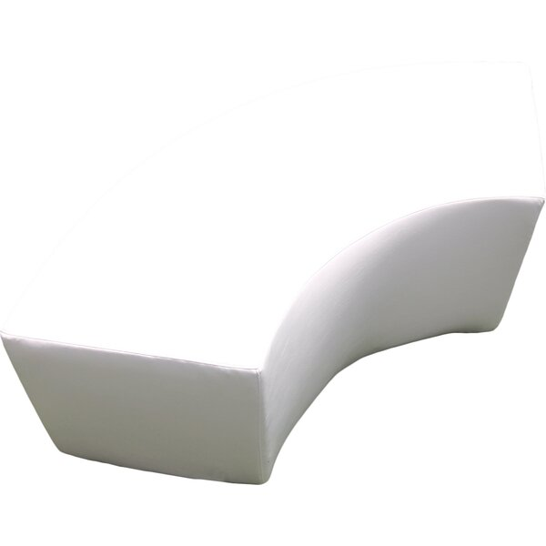 Amazing Modern Contemporary Curved Dining Bench Allmodern Creativecarmelina Interior Chair Design Creativecarmelinacom