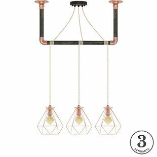 Brayden Studio Diesel 3-Light Kitchen Isl..