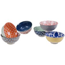 Albiero 6 Piece Circle Bowl Set