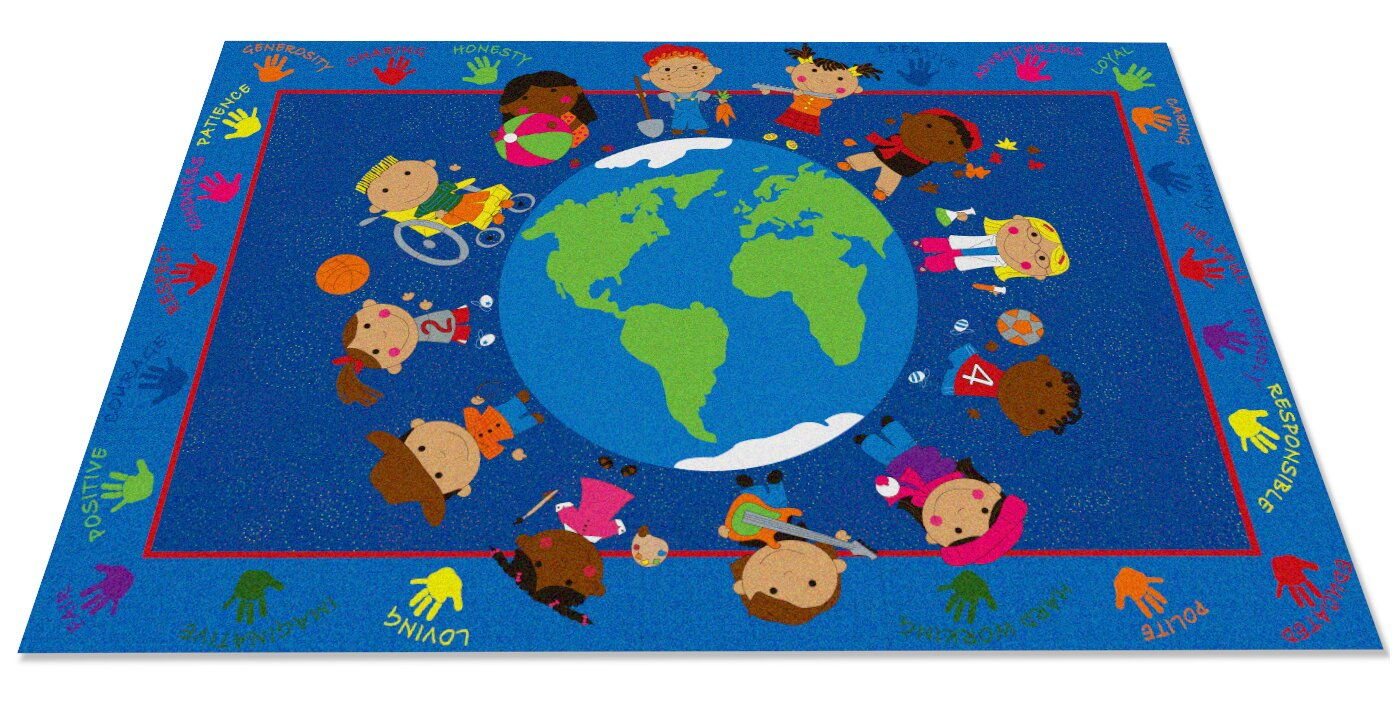 default_name - Kid Carpet World Character Classroom Kids Area Rug & Reviews Wayfair