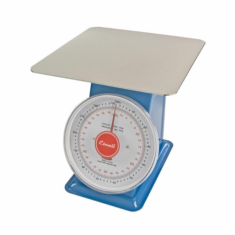 Escali Escali Mercado Dial Mechanical Kitchen Scale with Flat Plate