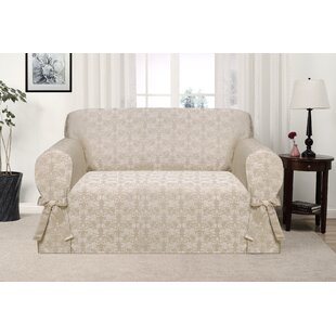 Box Cushion Loveseat Slipcover By Astoria Grand