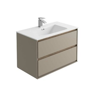 Alleyne 790mm Wall Mount Vanity Unit By Ebern Designs