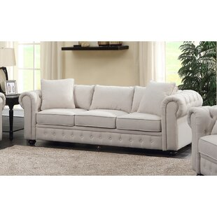 Read Reviews Metzger Chesterfield Sofa by House of Hampton Reviews (2019) & Buyer's Guide